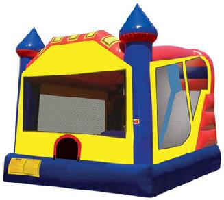 Cleveland Inflatable Jumpy Castle Slide Party Rental