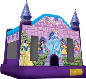 Willoughby, Ohio inflatable disney princess bouncer